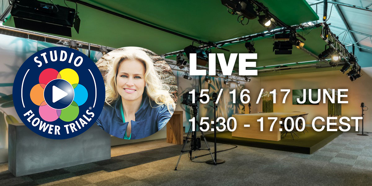 Studio FlowerTrials 2021 live - Hosted by Marit van Bohemen
