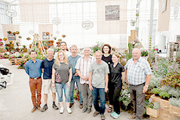 Benary Samenzucht - Team spirit set up Flower Trials®