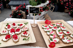 Benary Samenzucht - Delicious Canapées with BIG flowers